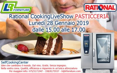 RATIONAL COOKINGLIVESHOW  – PASTICCERIA –