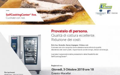 RATIONAL CookingLive Show EVENTO MACELLAI