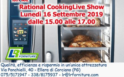 Rational CookingLiveShow – Cucinate con noi!