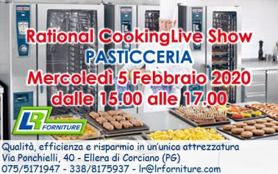 RATIONAL CookingLiveShow EVENTO PASTICCERIA
